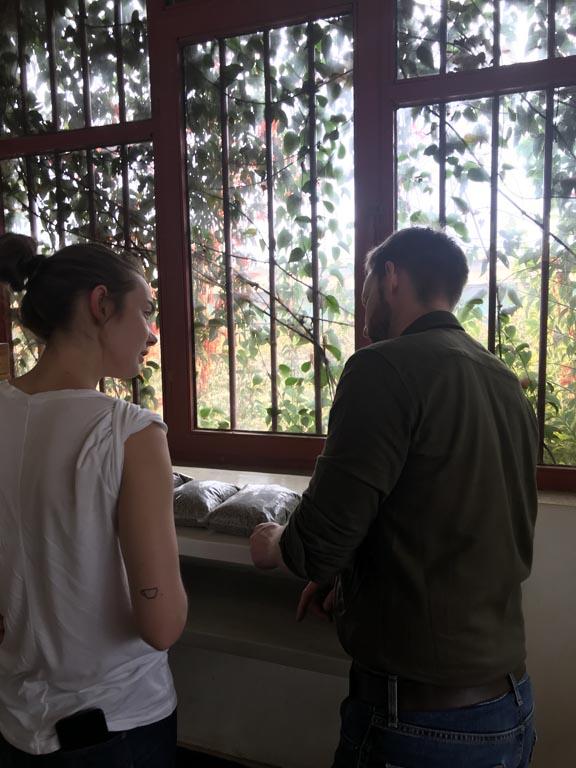 Dumerso vaskestasjon - eiers av søsteren til Yohannes og Surfaael