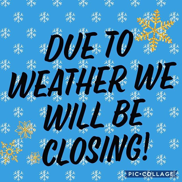 Unfortunately due to weather conditions we will be closing! We will open up tomorrow regular hours! Sorry for any inconveniences. #eatfriedrice #whatthefriedrice