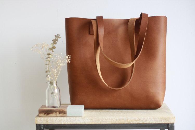 1350b97b7 Cap Sa Sal - Camel color leather bag — Vermut Atelier