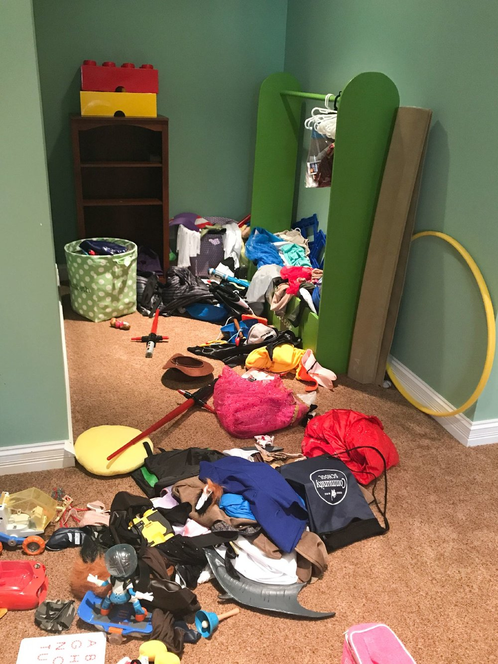 Before & After | Mighty Tidy: Organization by Kasey, LLC