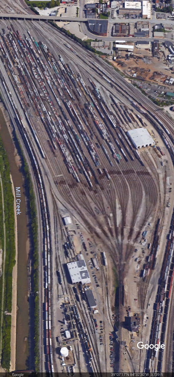CSX QUEENSGATE YARD -