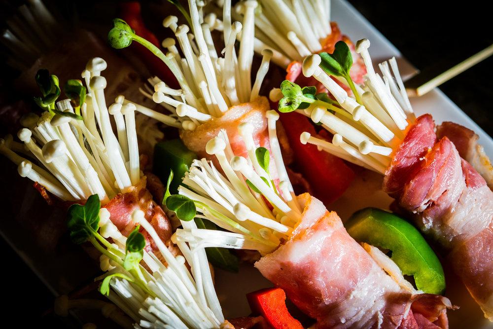 Bacon Wrapped Inoki