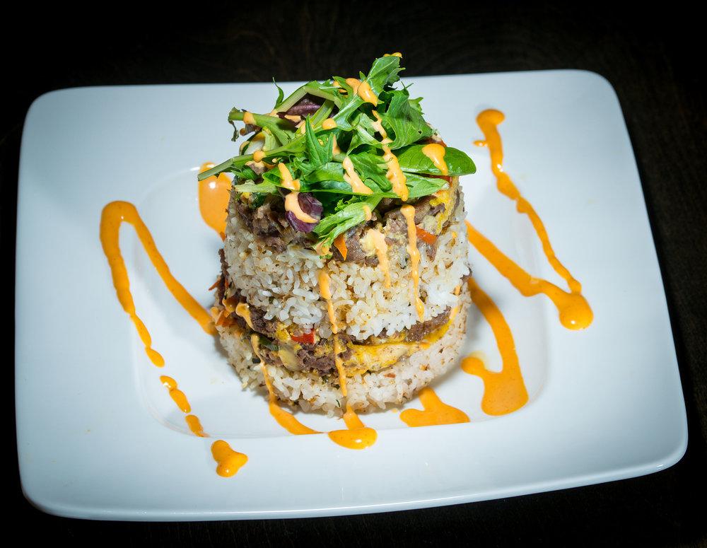 Bulgogi with Seasoned Rice & Mixed Salad