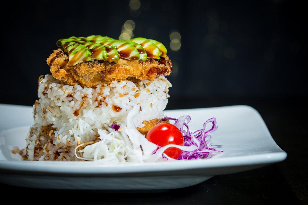 Chicken, Seasoned Rice & Avocado Salad