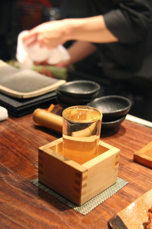 Sake Overpour