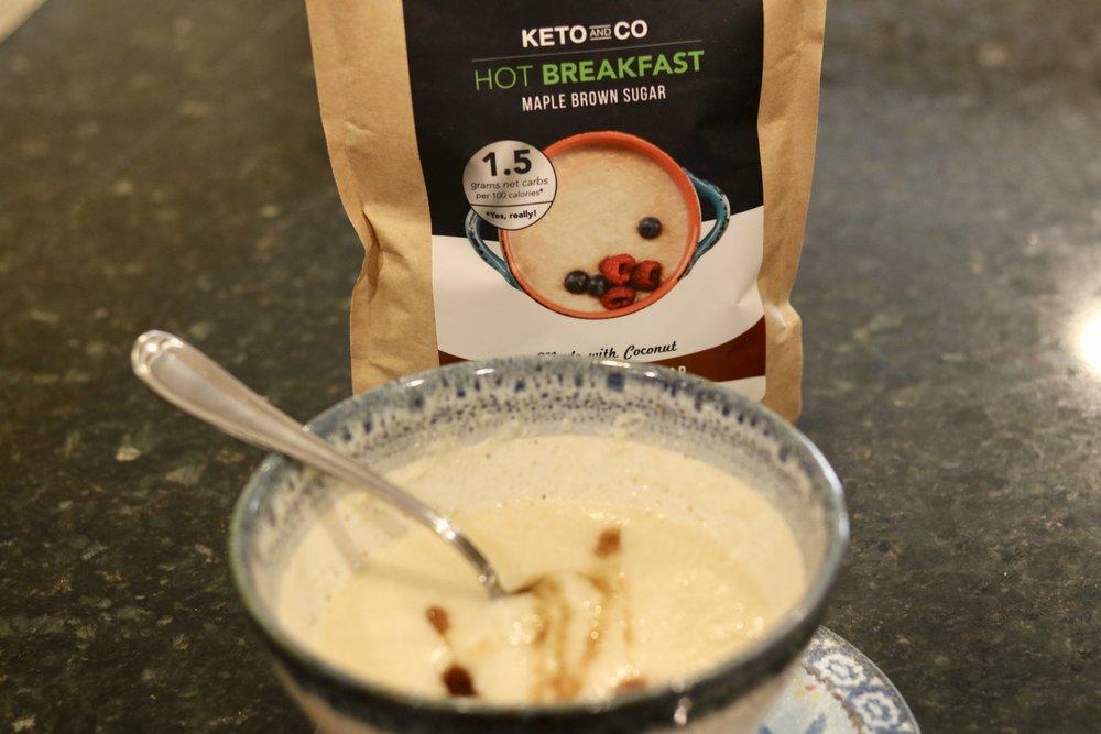 Keto & Co.Hot Breakfast - Substitute for Cream of Wheat | Filling | Keto-friendly