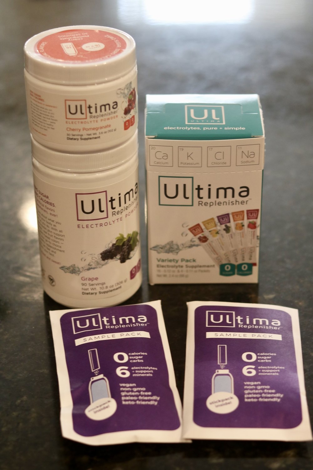 Ultima Replenisher - Energy for Fasted Cardio |Prevents Keto Flu