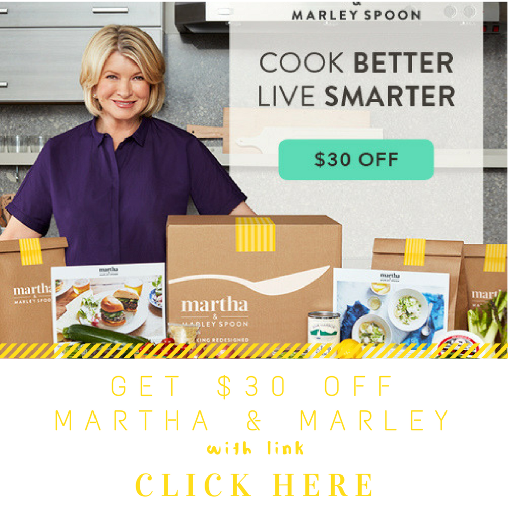 Discount Code for Martha & Marley Spoon