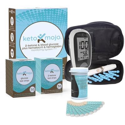 An image for Keto Mojo Ketone Meter and testing strips
