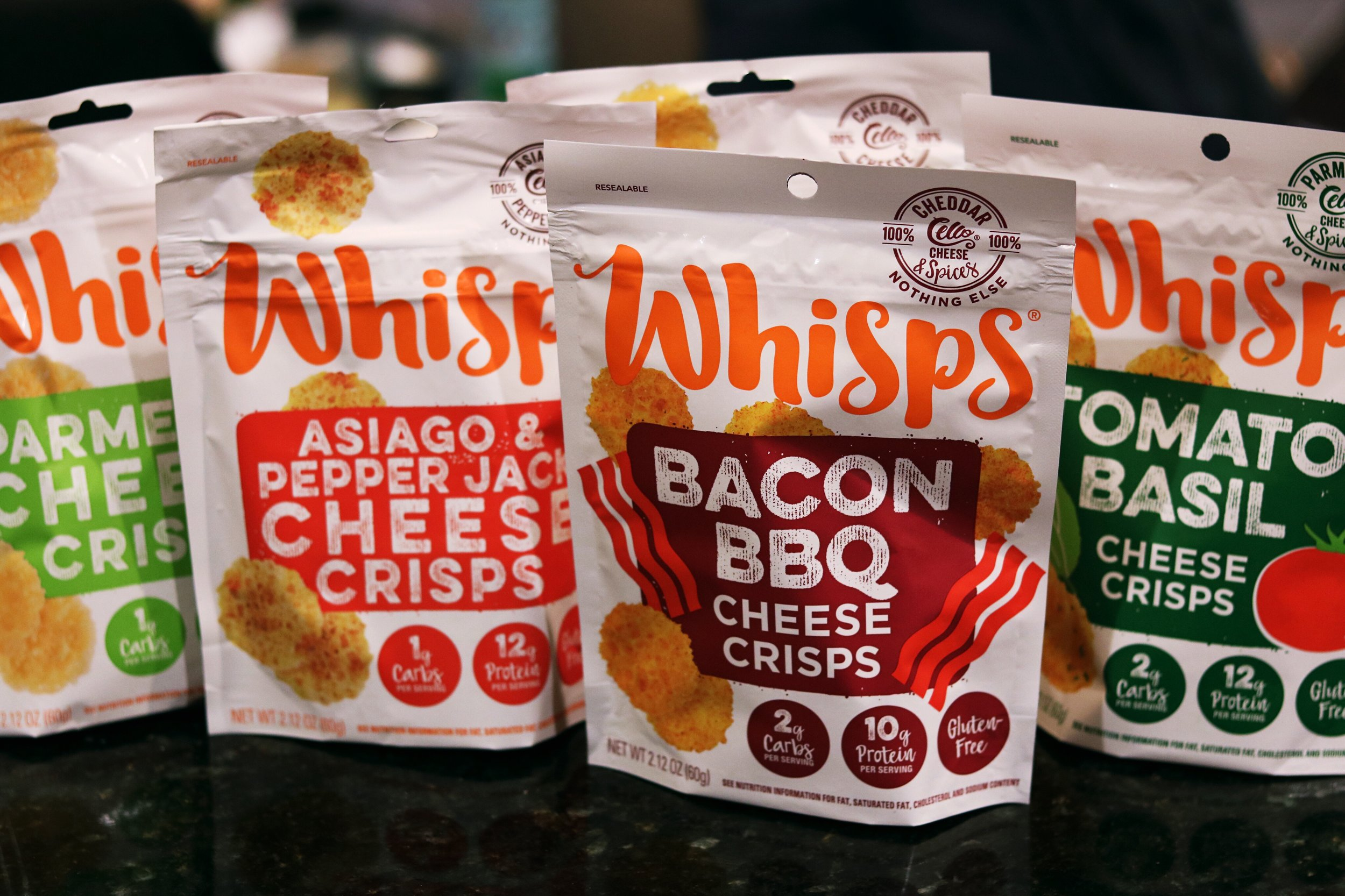 Whisps Cheese Snacks