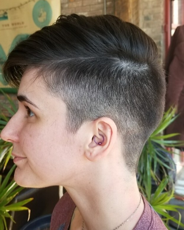 We are loving all of these short haircuts this week! [Jessica] #davines #donewithdavines #fleetstreetlex