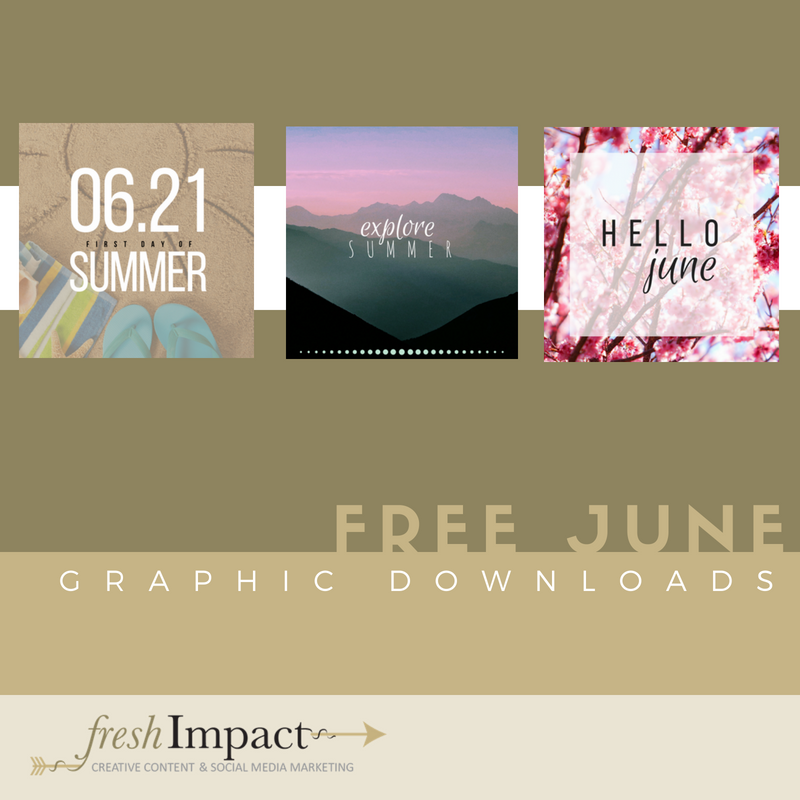 june free graphics fresh impact social marketing