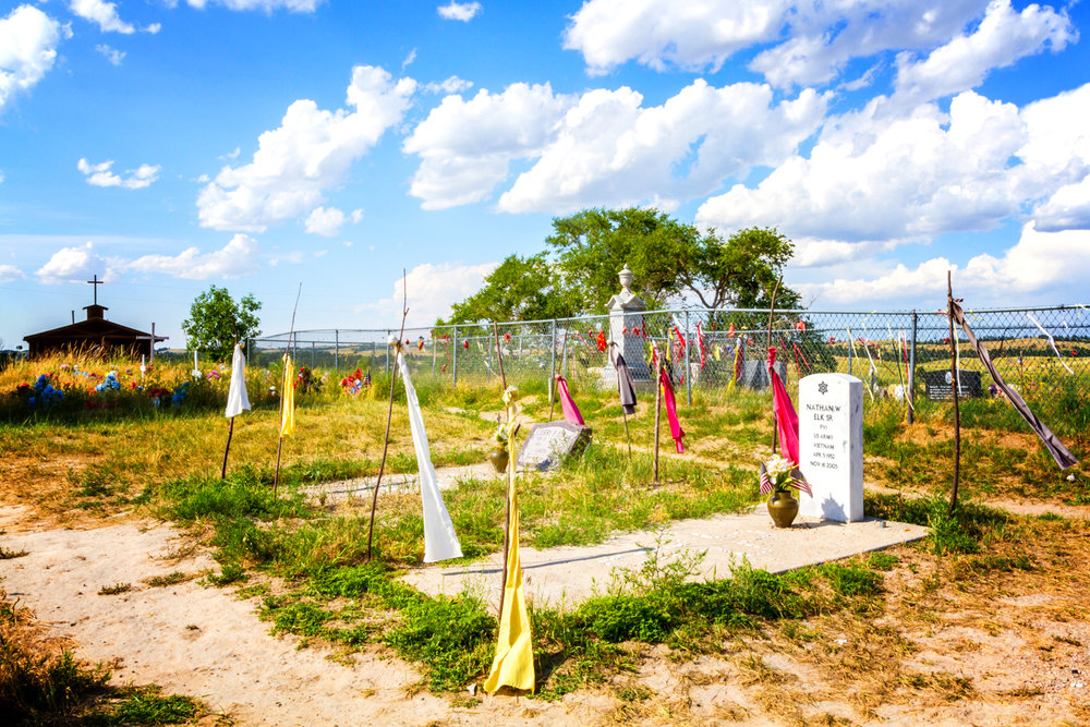 """""""Wounded Knee Mass Grave"""" July 30th, 2013 Wounded Knee, SD"""
