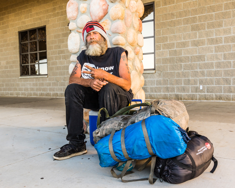 """""""Reno from Denver"""" September 19th, 2016 outside the Prairie Knights Casino on the Standing Rock Sioux Reservation, ND"""