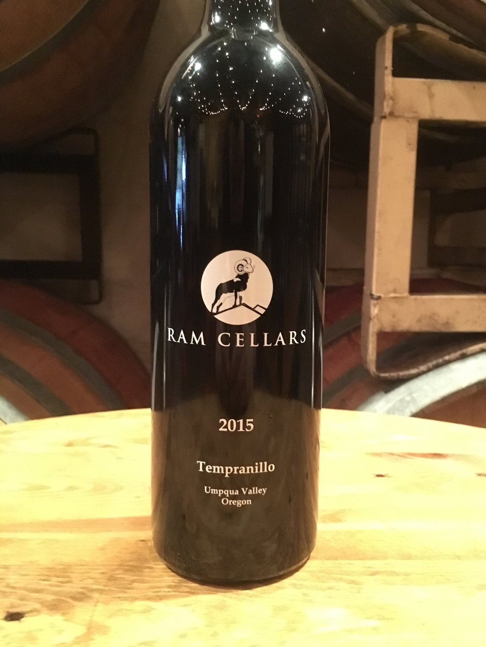 2015 Tempranillo$25 (SOLD OUT!)Our 2015 Tempranillo is balanced and smooth, with well integrated tannins juxtaposed against a dark and subtle blackberry fruit-forwardness. While it's tempting to drink it now, this wine has some serious aging potential. Pairs well with roasted duck, baked salmon, sauteed mushrooms, and of course, family and friends! - Delfino Vineyards, Umpqua Valley, Oregon, 65 cases produced