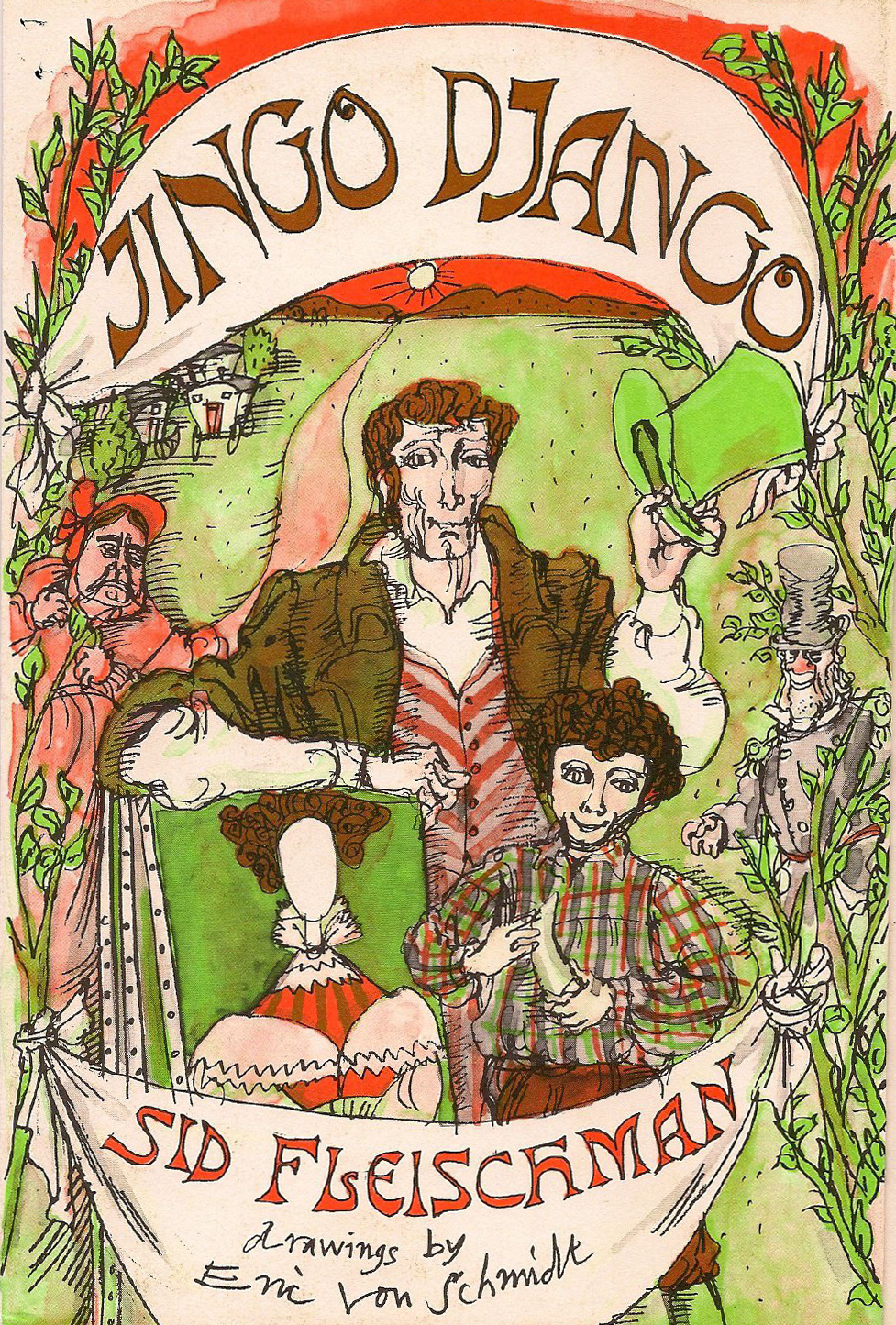 Jingo Django - A robust tale of mysterious identity, snorting villains and a chimney-hid whale's tooth.