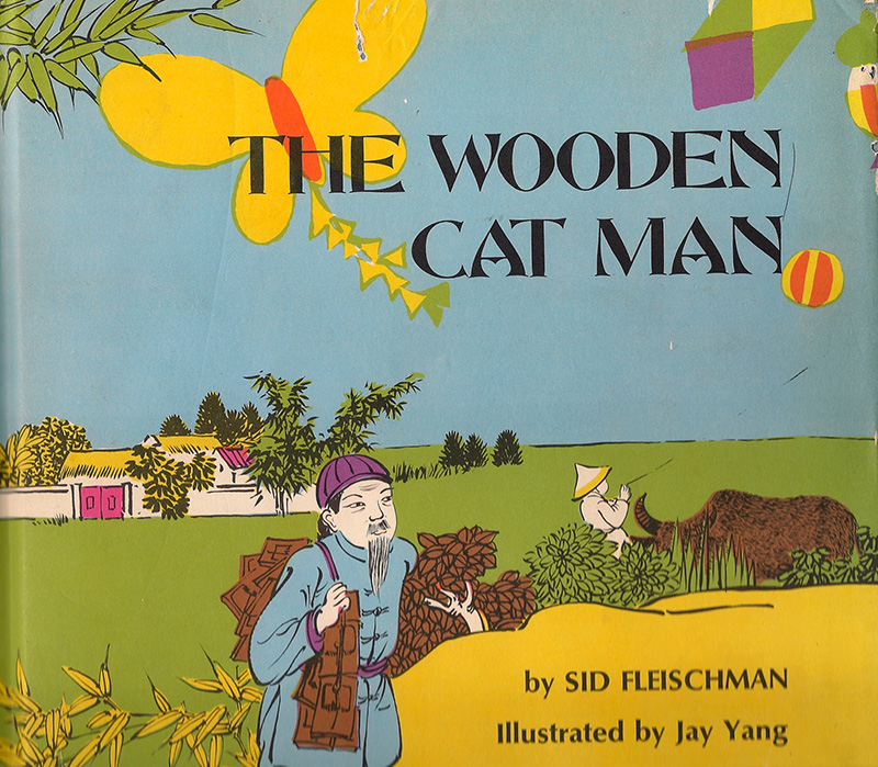 The Wooden Cat Man -