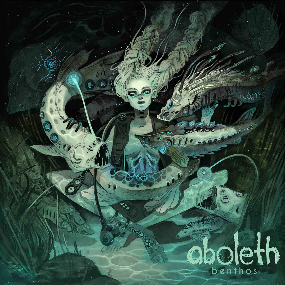 "The Floor  |   Used as cover art for Aboleth's debut record ""Benthos"" 