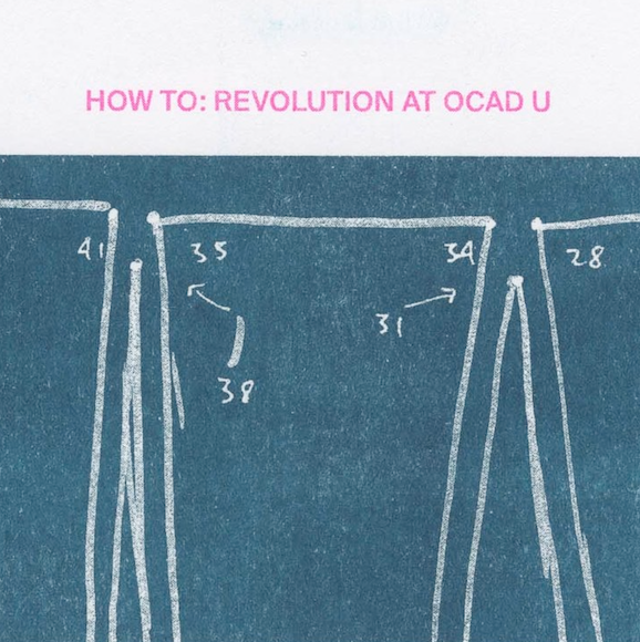HOW TO REVOLUTION AT OCAD U