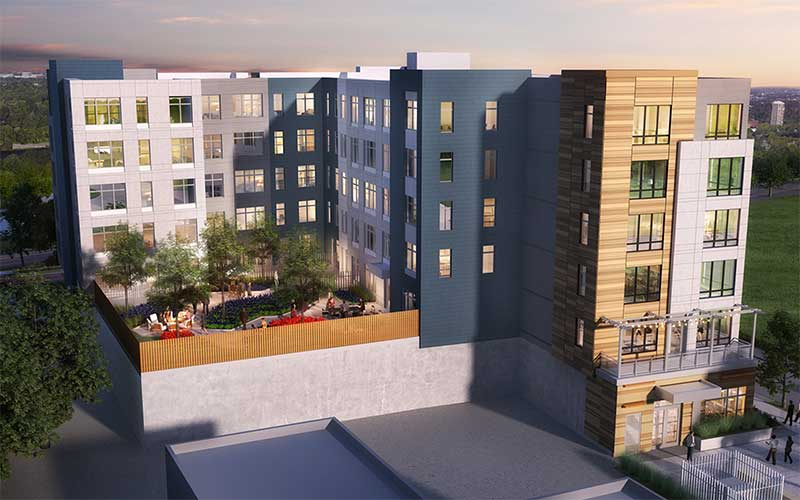 Renderings are courtesy of The Davis Companies