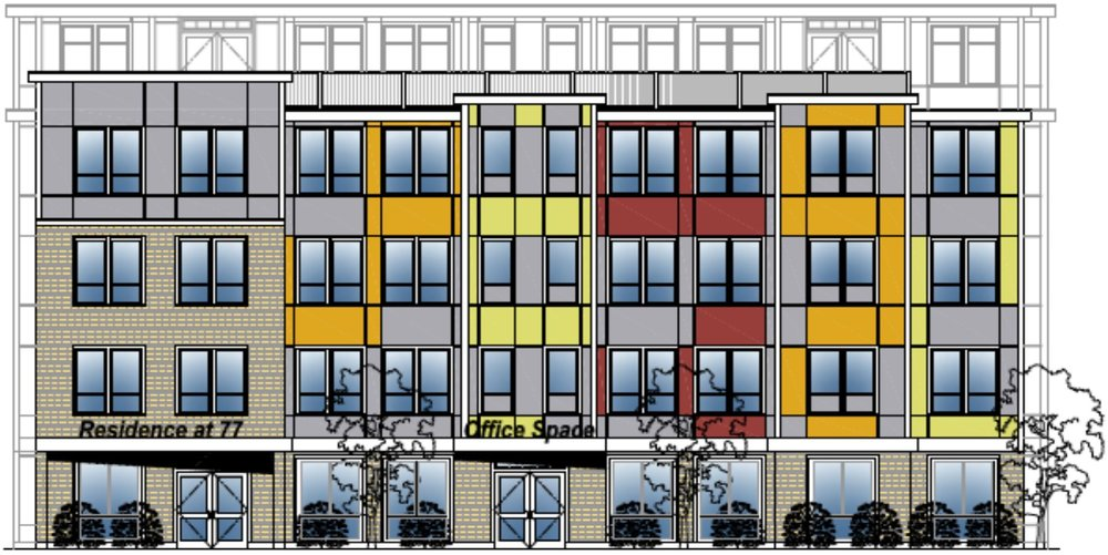 Rendering courtesy of Flying Cloud Realty Trust and RCA LLC, Architects