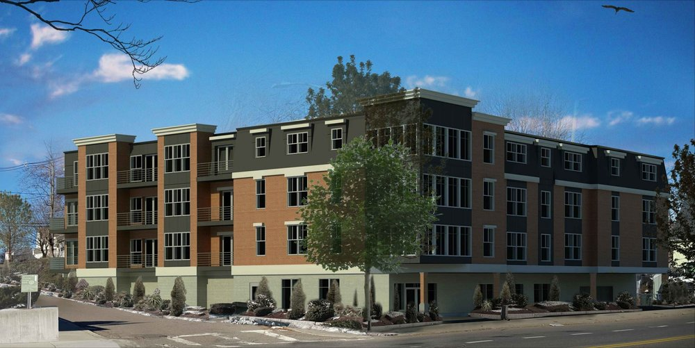 Rendering courtesy of 81 Chestnut Hill Avenue Development, LLC and Choo & Company, Inc.