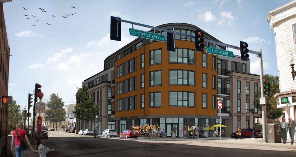 Renderings courtesy of 959 Dot LLC and Rode Architects, Inc