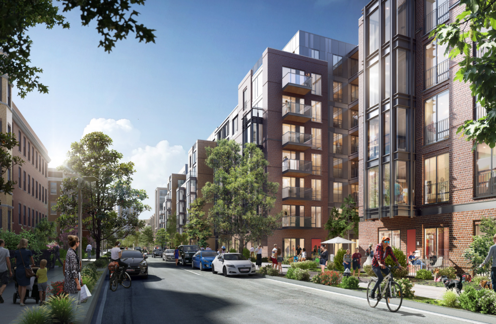 Renderings courtesy of 60 Kilmarnock (Boston) Owner LLC and CBT Architects