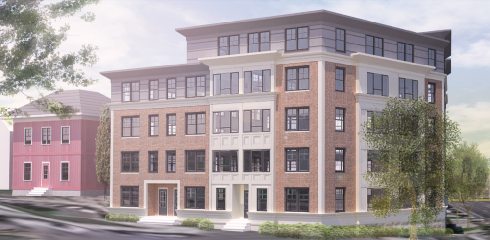 Rendering courtesy of Regent Development LLC and McKay Architects