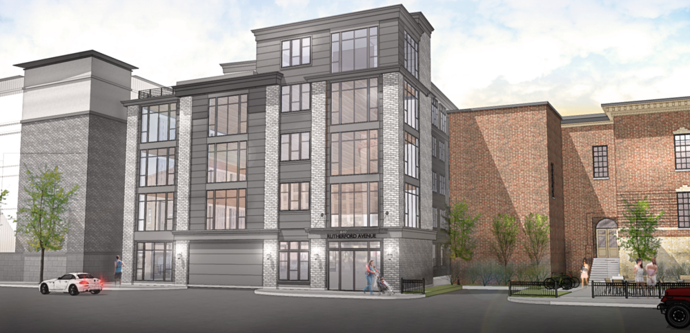 Rendering courtesy of 610 Rutherford Avenue, LLC and McKay Architects