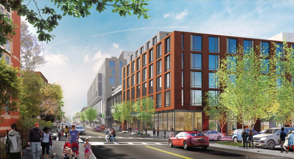 Renderings courtesy of New Creek LLC, WSP 1725 Holding, LLC, and Elkus Manfredi Architects