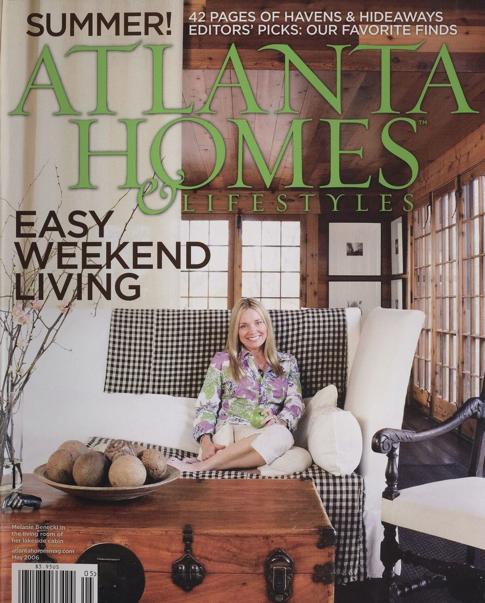 Cottage Living - Published in Atlanta Homes & Lifestyles, May 2006