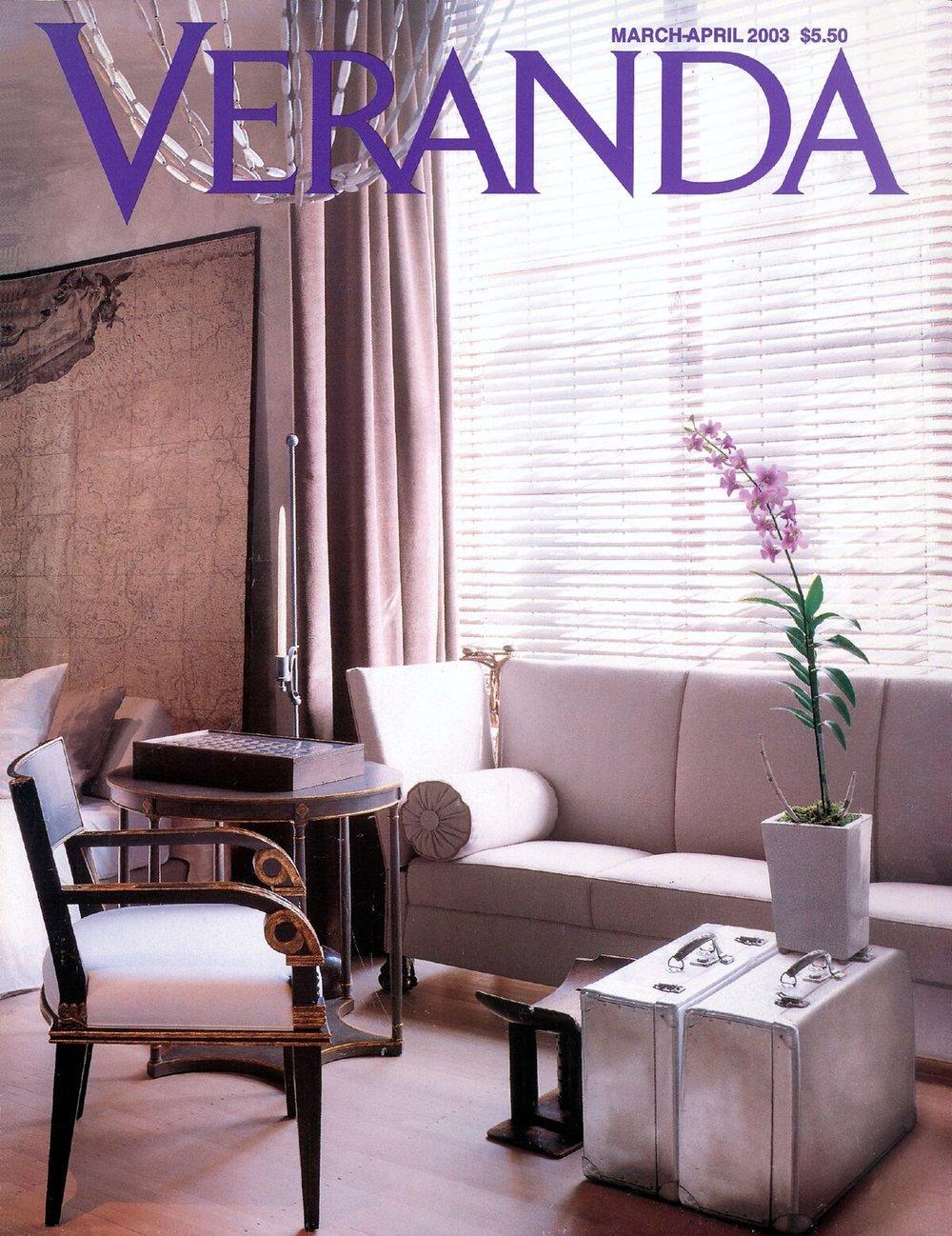 Dreamy Classic Comfort - Published in Veranda, March-April 2003