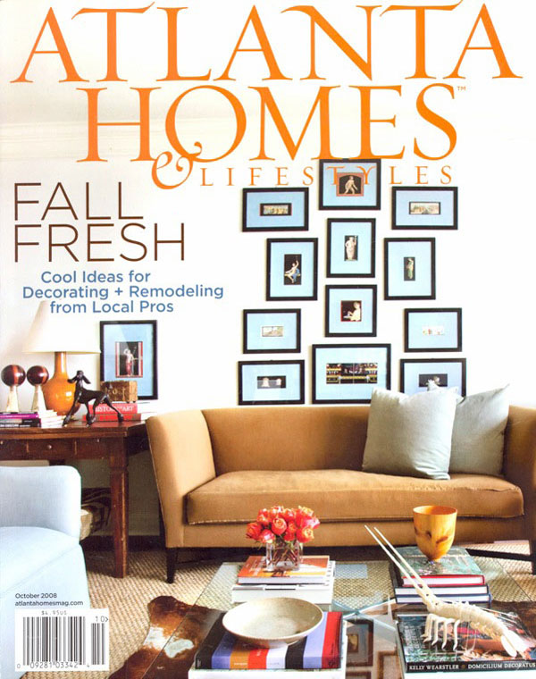 Front and Center - Published in Atlanta Homes & Lifestyles, Oct 2008