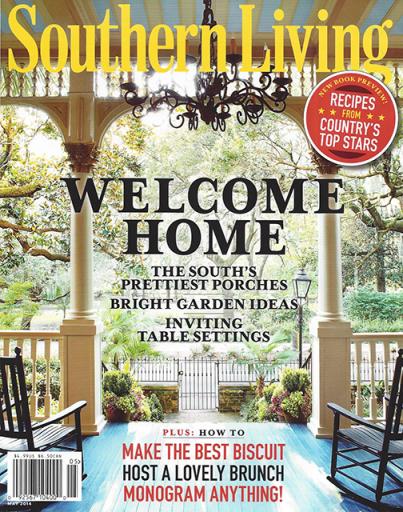 Modern English  Southern Living May 2014