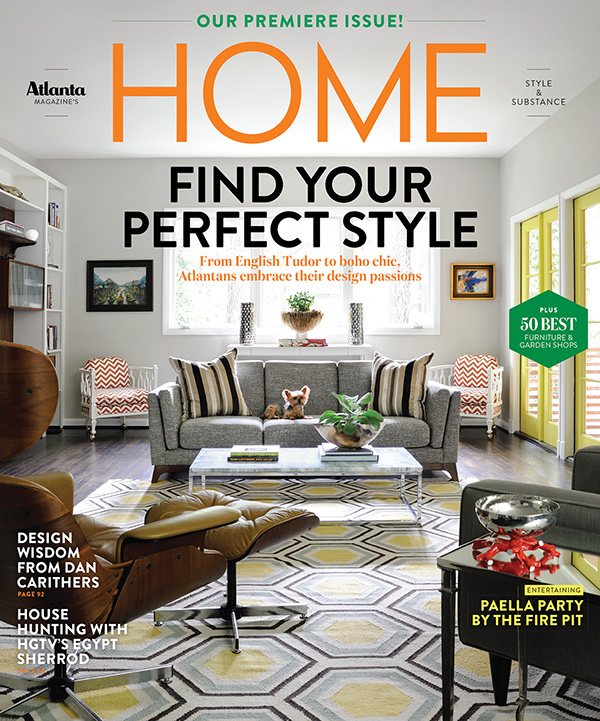 My Favorite House - Published in Atlanta Magazine's Home, Fall 2017