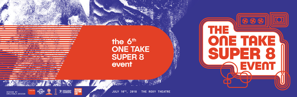 THE ONE TAKE SUPER 8 EVENT 2018  - PROGRAM DESIGN