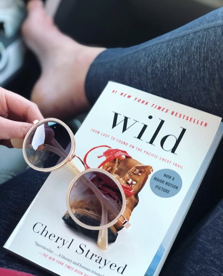 Road trip reads... Always keepin' it Wild.