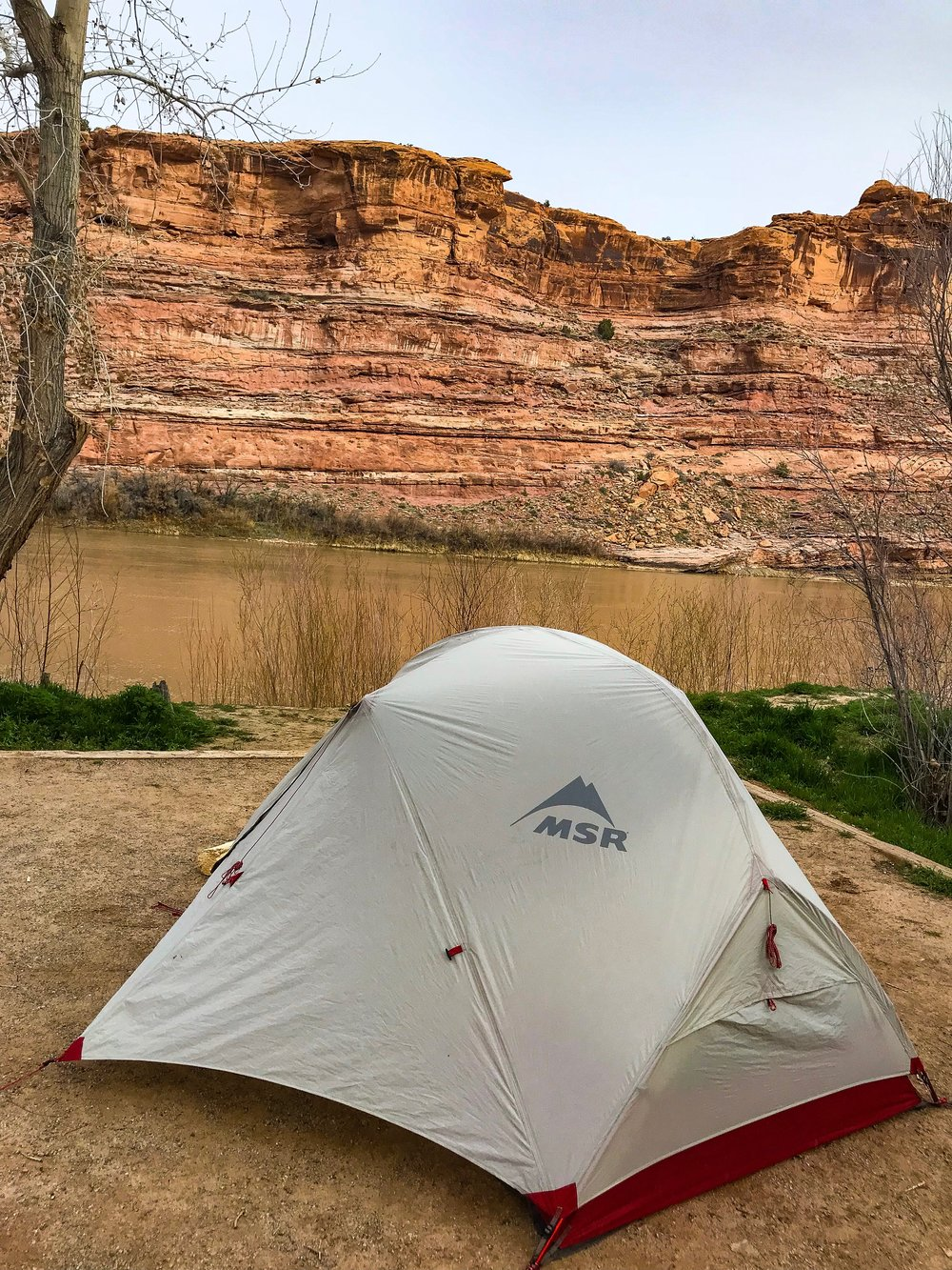 My home for the night at Grandstaff campground along the Colorado River.