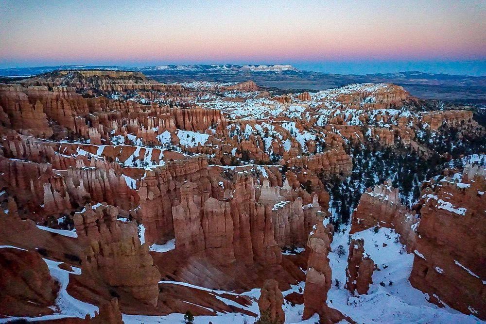 Sunset Point, Bryce Canyon National Park.