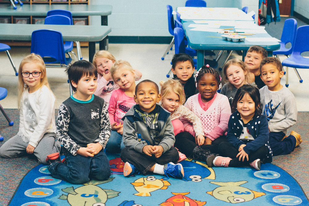 Kindergarten Program - Children's Academy provides Kindergarten as an alternative to public schools and tuition assistance is available. The kindergarten program is licensed by the Ohio Department of Education and is accredited to meet and exceed the standards set by ODE. Our school is also an EdChoice School, which gives parents a choice: Children attending an under-performing public school have the opportunity to attend participating private schools, such as Children's Academy. The kindergarten program is full of exciting hands-on learning materials, with a creative curriculum that focuses on developing reading, writing, and math skills. Music instruction and computer skills are incorporated into the learning environment. Individual instruction and small class sizes allow children to learn at a pace that is comfortable for each of their abilities. Many of the children are already familiar with their classroom surroundings and teachers at Children's Academy. Because of this familiarity, children have an easier transition from preschool to kindergarten.