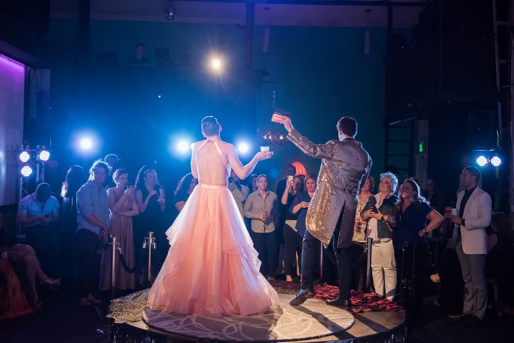 Photo by Nate Watters from 'A Sensible Debutante Ball,' at FRED Wildlife Refuge