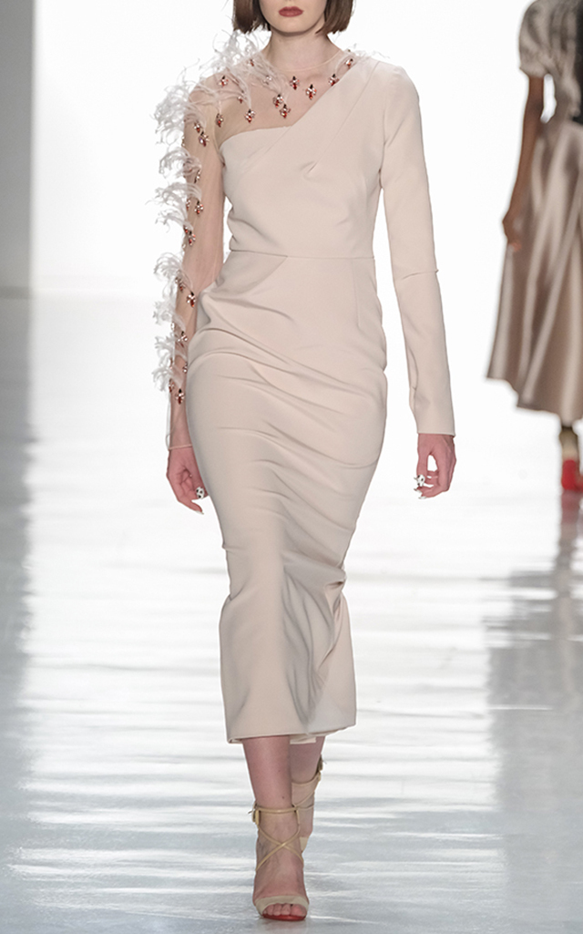 9cf9a6d622e Bibhu Mohapatra Embroidered Cocktail Dress — BIBHU