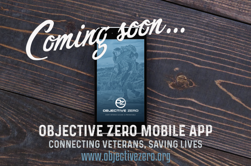 'Objective Zero' App Aims To Prevent Veteran Suicide