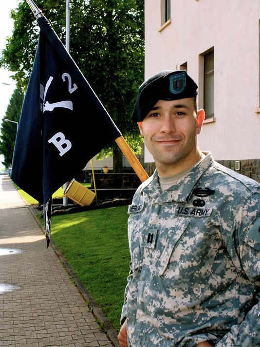 Washington grad uses Army experience to help fight suicide