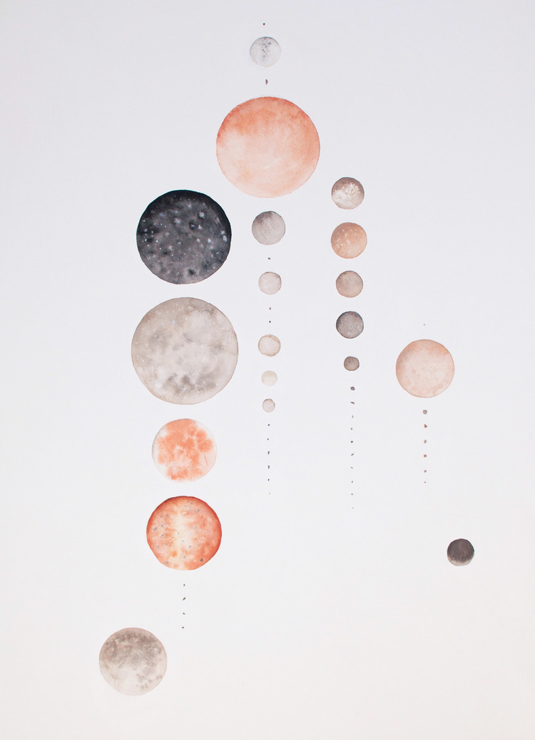 Moons of our Galaxy - Stella Maria Baer