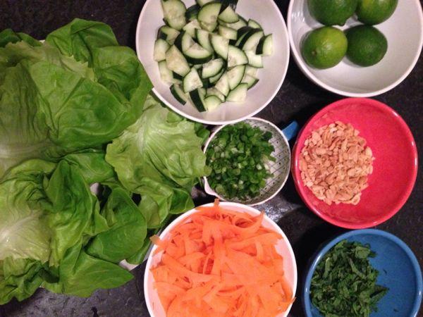 lettuce wraps insides