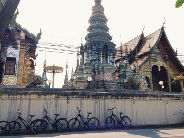 temple via bike