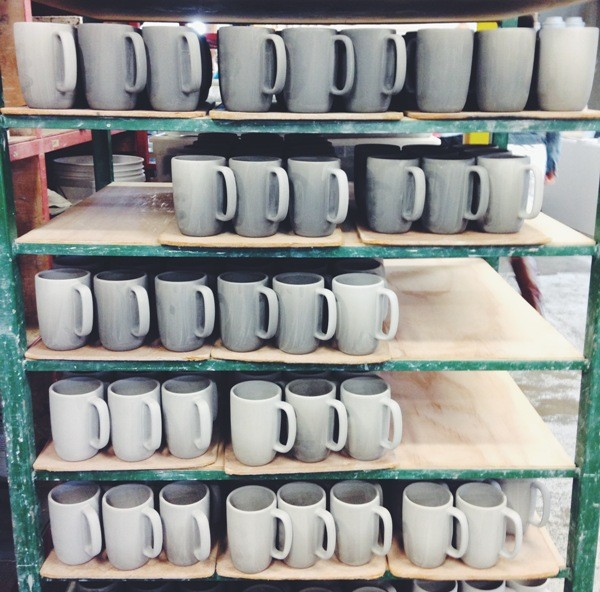 Drying Mugs