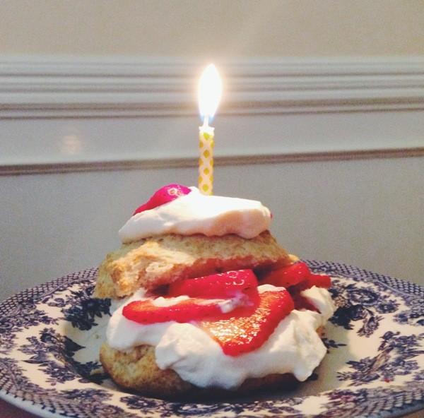 Birthday Shortcake